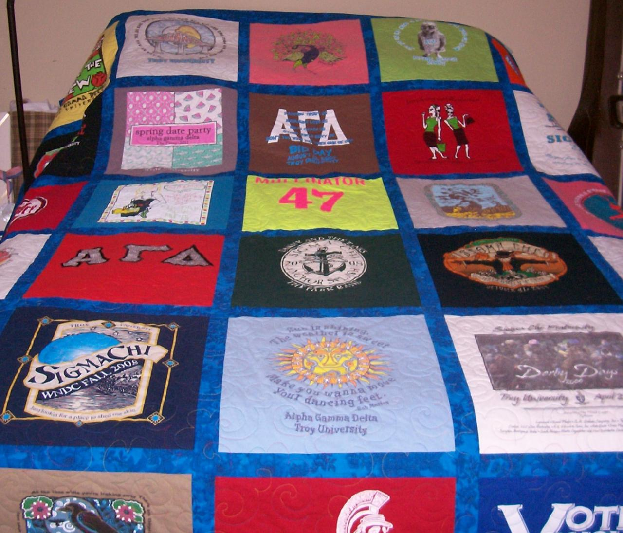 The Quilting Rack - T-Shirt Quilts